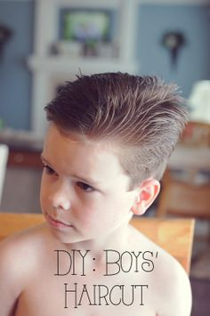 My 4 Misters & Their Sister: DIY: Boys' Haircut