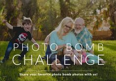 Photo Bomb and Photo Bloopers - Photo Challenge Winners Announced. Pretty Presets for Lightroom.
