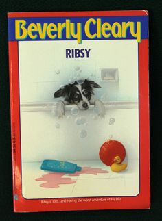 RIBSY by Beverly Cleary vintage childrens by CalmAndCollectedShop, $7.00