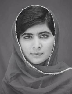 "We should all strive to be as courageous and loving as Nobel Peace Prize Winner Malala Yousafzai! ""I speak not for myself but for those without voice... those who have fought for their rights... their right to live in peace, their right to be treated with dignity, their right to equality of opportunity, their right to be educated"""