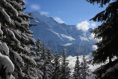 Christmas in the French Alps
