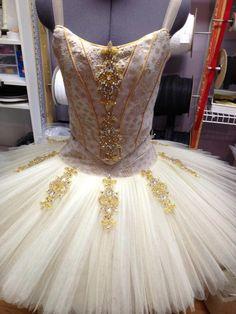 White and Gold tutu from tutu.com