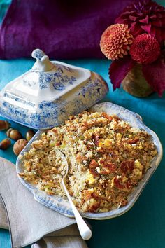 Southern Thanksgiving Sides:  Grandmother Carter's Cornbread Dressing