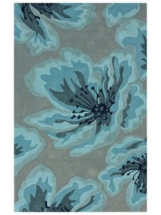 Gladiolus Hand-Tufted Rug by nuLOOM   Gorgeous this for LR paisley to compliment in DR