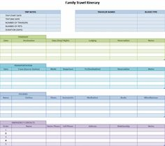 1000 images about trip itinerary template on pinterest templates vacation planner and disney. Black Bedroom Furniture Sets. Home Design Ideas