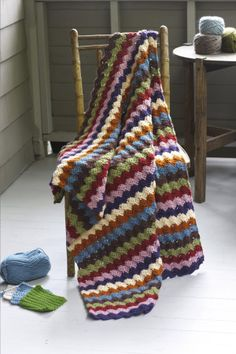 Modern Alchemy Afghan/Free Crochet Pattern. NEW!
