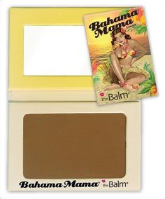 The Balm Bahama Mama mate bronzing powder -- for contouring or all over color Blusher Makeup, Contour Makeup, Contouring And Highlighting, The Balm Bahama Mama, Bahama Mama Bronzer, Beach Glow, Beauty Hacks Nails, Beauty Tips, Top Beauty