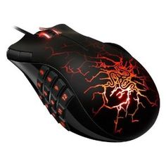 Razer Naga MMO Molten Special Addition 5600DPI Gaming Mouse from Razer at the Computer Mods UK