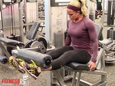 Sculpt Your Quads With Leg Extension Drop Sets. Want tighter, more defined thighs? In this Fit Life episode, Nicole explains how to intensify your quad training using a tried and true intensity technique–DROP SETS. Check it out! Leg Training, Weight Training, Strength Training, Nicole Wilkins, Fitness Tips, Fitness Motivation, Quad Exercises, Lose 10 Pounds In A Week, Butt Workout