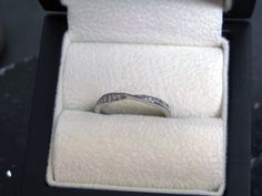 Twisted Wedding Ring - Set with #Diamonds