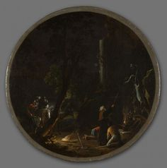 'Scenes of Witchcraft: Night', about 1645–49