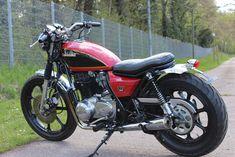 Znalezione obrazy dla zapytania Kawasaki LTD 440 tracker