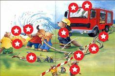 Jokie en de brandweer, Het zandkasteel - de brandweer, Kl... by Lien Van Liedekerke