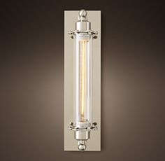 Grand Edison Glass Sconce