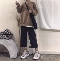 Source by dianarozen outfits Grunge Outfits, Edgy Outfits, Korean Outfits, Mode Outfits, Retro Outfits, Cute Casual Outfits, Vintage Outfits, Fashion Outfits, Hijab Fashion