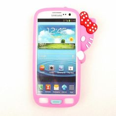 Hello Kitty 3D Hiding Kitty Silicone Case for Samsung Galaxy S3 III…