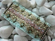 Candy Colors Cuff ♥ by MagicalMysteryTuca on Etsy, $62.00