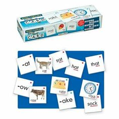 Smethport Lauri Pocket Chart Cards: Word Families Card sets and pocket charts have been used for years as interactive teaching tools. Word Family List, Increase Vocabulary, Word Patterns, Rhyming Words, Matching Cards, Phonemic Awareness, Word Families, Teaching Tools, Teaching Materials