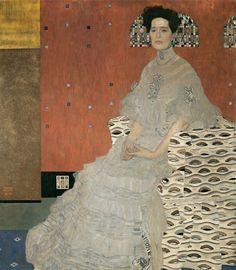 Gustav KLIMT Austria 1862–1918 Fritza Riedler 1906 oil on canvas 152.0 x 134.0 cm Belvedere, Vienna