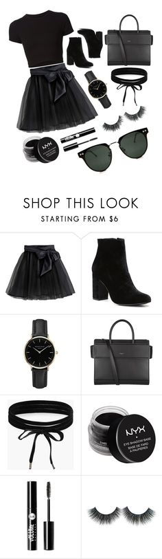"""""""Untitled #14"""" by zahrakayla ❤ liked on Polyvore featuring Getting Back To Square One, Little Wardrobe London, Witchery, ROSEFIELD, Givenchy, Boohoo, NYX, Charlotte Russe and Spitfire"""