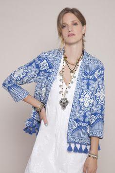 INDIGO GIRL · Ethnic   Style   Fashion   Coat