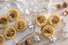 Tartellette di polenta con noci e taleggio | Polenta Valsugana