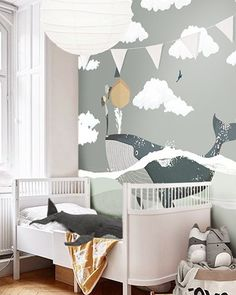 Little Hands Wallpaper Mural ( Baby Bedroom, Nursery Room, Boy Room, Kids Bedroom, Nursery Decor, Bedroom Decor, Jungle Bedroom, Fall Home Decor, Cheap Home Decor
