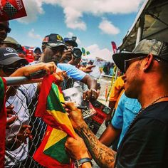 Off Track w/Lewis Hamilton in Barbados @ Top Gear Festival