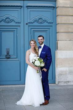 Paris spring wedding   Image by Montana Markley Photography