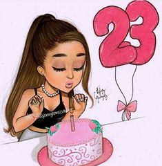 Imagem de ariana grande and birthday