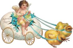Vintage Easter (5 more are Easter, plus some extra angel images)