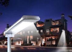 Greenlytes 12 Watts LED Solar Parking Light Review - http://solarlightssite.com/greenlytes-12-watts-led-solar-parking-light-review/