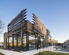 In Ann Arbor Michigan A New 94000 Sf Retail Center Embraces Progressive Architecture And