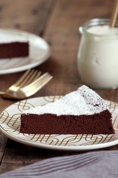 There is very little that needs to be said about a chocolate mousse cake. This one lives up to its name. It is gloriously intense. But the whisked egg whites ensure that it has a balancing lightness. A slice of it, with a smattering of fresh raspberries and a dollop of cream, or better still, sour cream, is the perfect finale. (Photo: Jim Wilson/The New York Times)