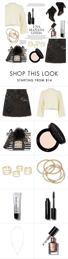 """zebra bag"" by raniaghifaraa ❤ liked on Polyvore featuring Marc Jacobs, Jaeger, Furla, Bobbi Brown Cosmetics, ABS by Allen Schwartz, Rupert Sanderson and ZoÃ« Chicco"