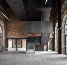 Rehabilitation of the old railway station of Burgos by Contell-Martínez Arquitectos - Pin Coffee Stairs Architecture, Industrial Architecture, Architecture Details, Factory Architecture, Futuristic Architecture, Landscape Architecture, Conservation, Modern Buildings, Houses