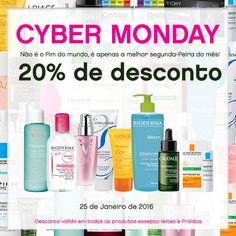 Amostras e Passatempos: Hoje é Cyber Monday na Skin!