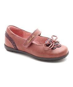 Pablosky Pink & Purple Bow Mary Jane