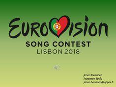 Näytetään Eurovision 2018 diaesitys.ppsx Calm