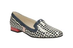 Womens Smart Shoes - Orla Bella in Blue Floral from Clarks shoes