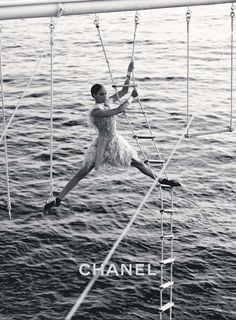 Obsessed with Joan Smalls in the new Chanel campaign.