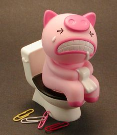 Piggy Paper Clip Hoooooolder