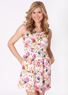 A Belle Boutique Bloomem Away Dress #abelleboutique