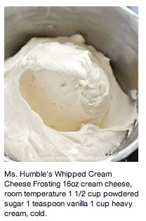 Awesome cream cheese frosting recipe