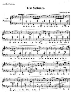 Nocturne No. 1 in F Minor, Op. 55