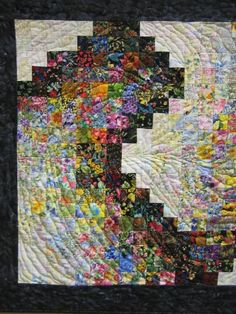 Modern Art Quilts | Contemporary Art Quilt, Playing Around, Abstract Wall ... | Quilt Ide ...