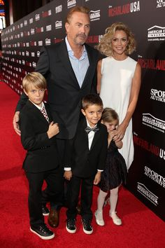 Kevin Costner and Christine Baumgartner Photos Photos: 'McFarland, USA' Premieres in Hollywood — Part 2 Jennifer Aniston Style, Dances With Wolves, Celebrities Then And Now, Star Wars, Kevin Costner, Famous Couples, Child Actors, Hollywood Actor, Documentary Film