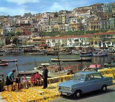 Mikrolimano Marina in Piraeus - Greece Old Pictures, Old Photos, Vintage Photos, Greece Pictures, Vintage Cars, Algarve, Paradise On Earth, Athens Greece, Attica Greece