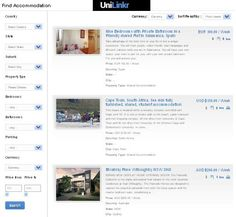 Student can find suitable accommodation for rent anywhere in the world near University.