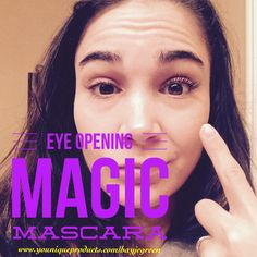 Eye opening!!! Didn't realize how closed my eyes looked with out my 3D Fiberlash mascara! Like if you agree! #magicmascara #longlashes #eyeopening #lashes
